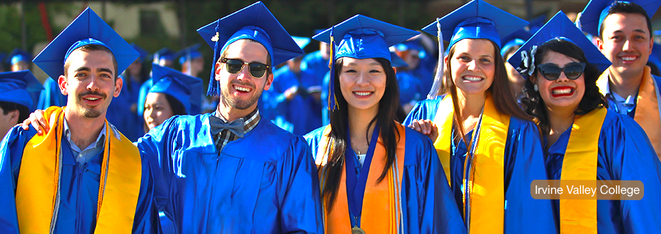 graduates at irvine valley college